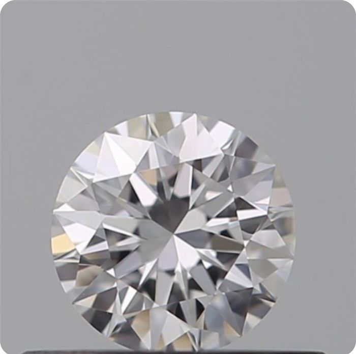 Diamant - 0.31 ct - Brillant - D (farblos) - IF (makellos), LC (lupenrein)