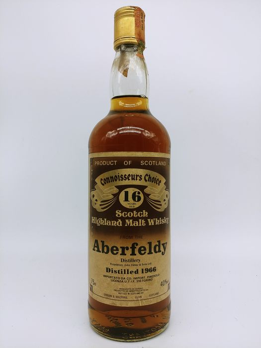 Connoisseurs Choice Aberfeldy 1966 16 years old - 750ml