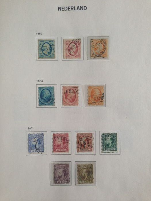Pays-Bas 1852/1906 - Collection classic