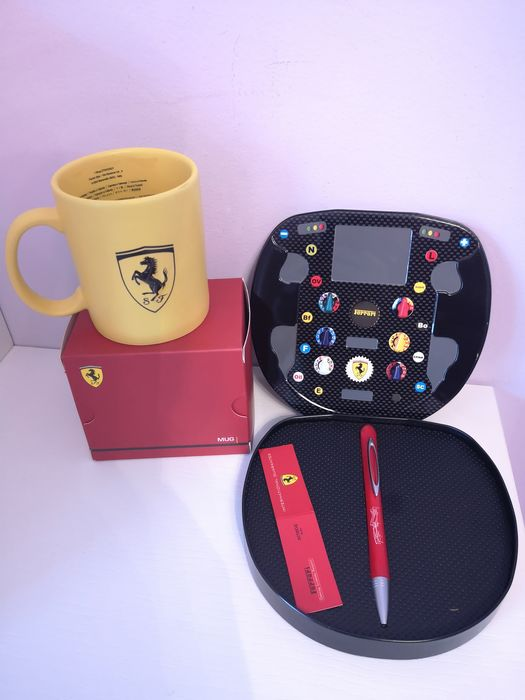 Ferrari ball pen and Ferrari album cup - Ferrari - . - 2018