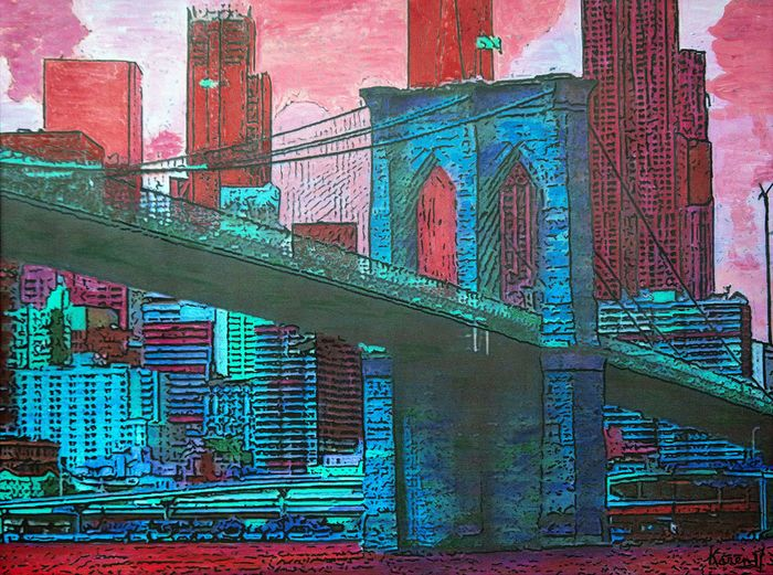 Karen M - Brooklyn bridge
