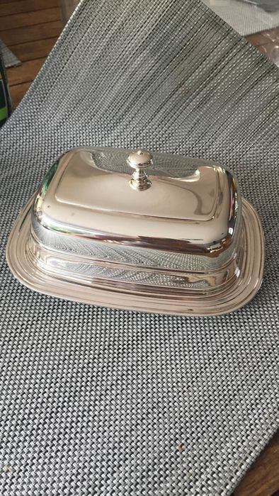 christofle  - christofle  - Butter dish - Silver plated