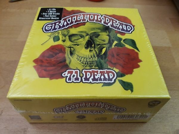 Grateful Dead - '71 Dead, (Mint & Sealed) 21 CD's, Illustrated Booklet, Legendary Live Recordings - CD Boxset - 2017/2017