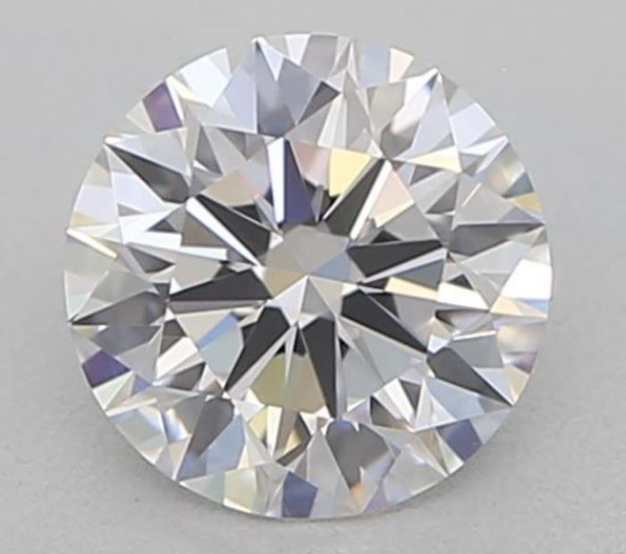 1 pcs Diamond - 0.40 ct - Brilliant - D (colourless) - IF (flawless)