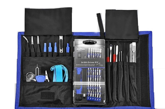 Professional Repair Tool Kit 81 In 1 For Computer,Laptop,Tablet,Phone All Devices - 81 in 1 Set