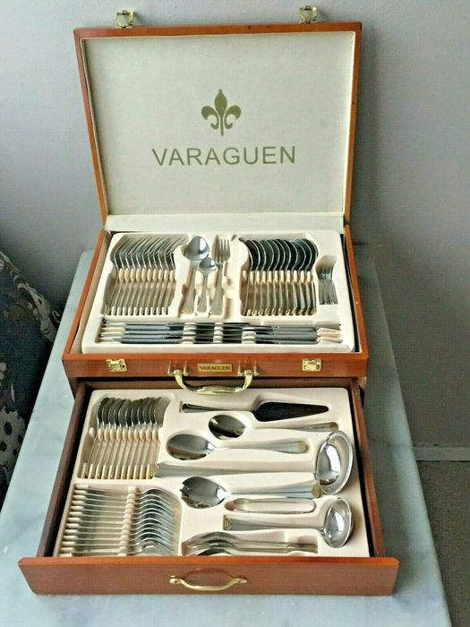 Varaguen - luxury housewife (84) - stainless steel 18/10 gold 23/24 carat gold