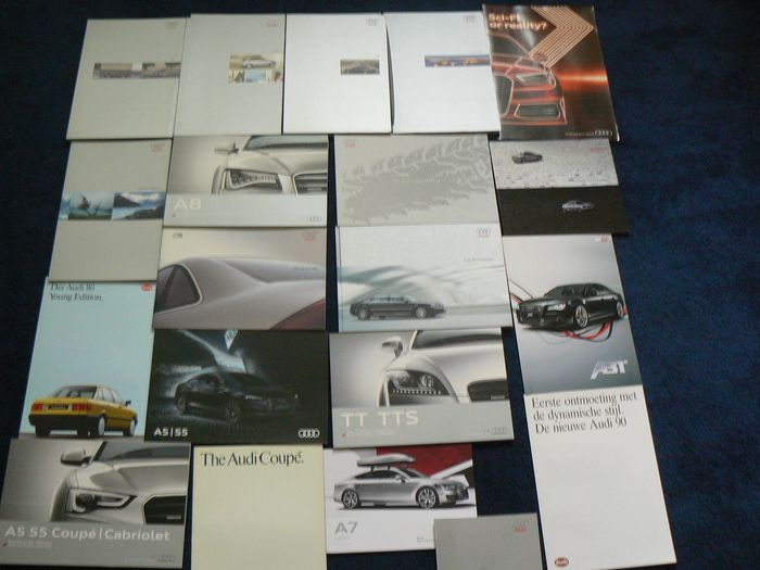 Brochures / Catalogues - A6 S4 TT all-road Quattro W12 - 1984-2016
