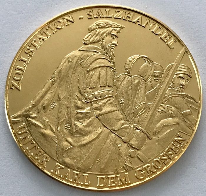 Germany - Medaille 2005 - 1200 Jahre Premberg - Gold