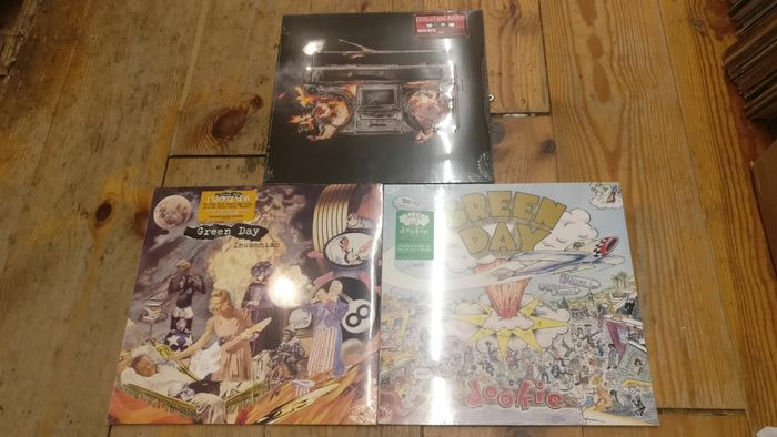 Green Day - 3 Great Albums! Revolution Radio, Dookie, Unsomniac, (Mint & Sealed - Multiple titles - LP Album - 2008/2016