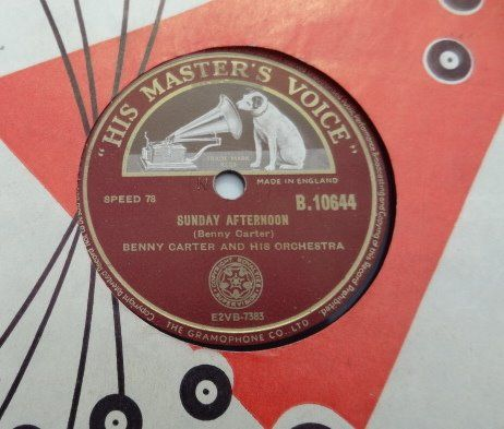 20 x 78RPM Records with Jazz, Boogie and Blues. - Benny Carter, Louis Jordan, Ella & Louis, Jimmy Yancey, Ellington, Fats Waller etc - 78 rpm - Records shellac
