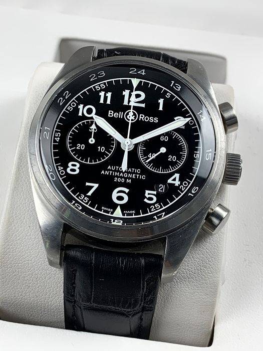 sports shoes 98dc9 0a3ac Bell & Ross - BR126 Chronograph Automatic - BR126.XL - Men - 2011-present -  Catawiki