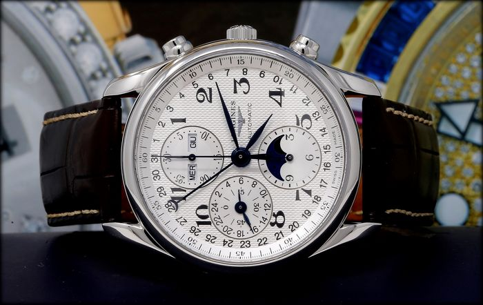 Longines -  Master Collection Chronograph Moonphase - L2.673.4 - 男士 - 2014
