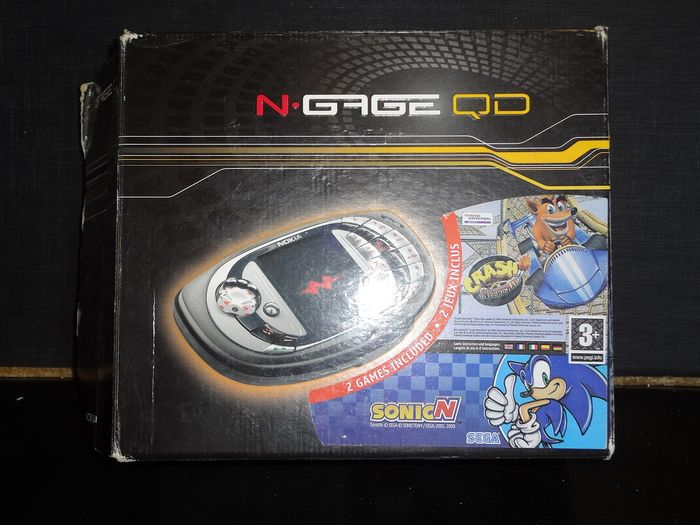 1 Nokia 2003 Nokia N Gage Game Console - Console - In original sealed box