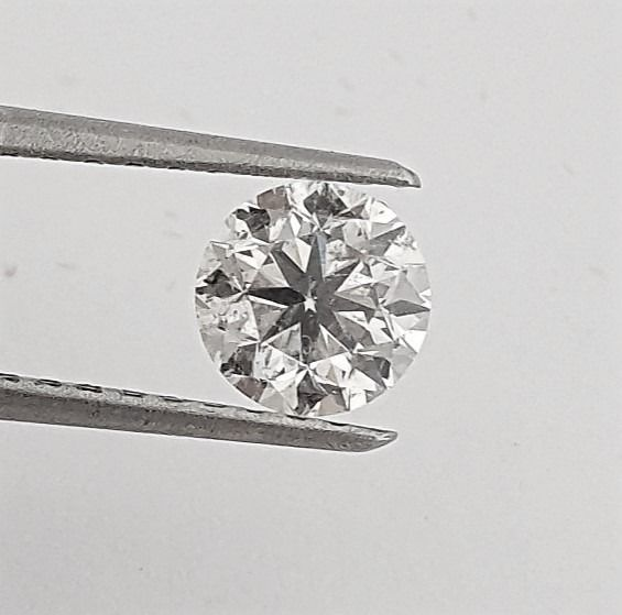 Diamant - 1.00 ct - Brillant - E - VS2