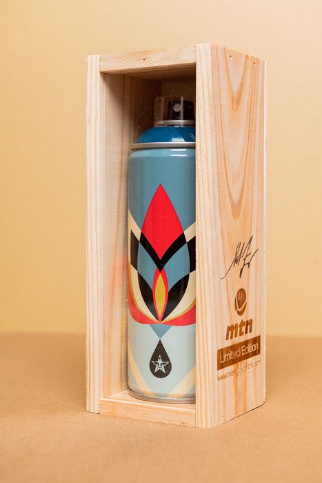 Shepard Fairey (OBEY) - MTN Limited Edition - Lotus