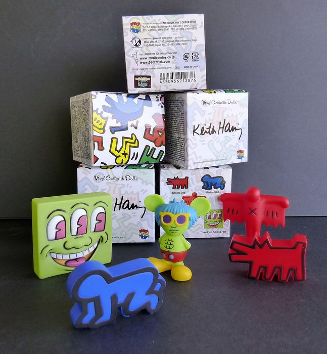 Keith Haring - Figurines Collector by MEDICOM Toy - Sculpture
