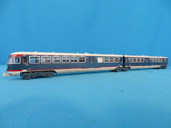 Holland Rail H0 - Train unit - DE-2 - Blue Angel - NS