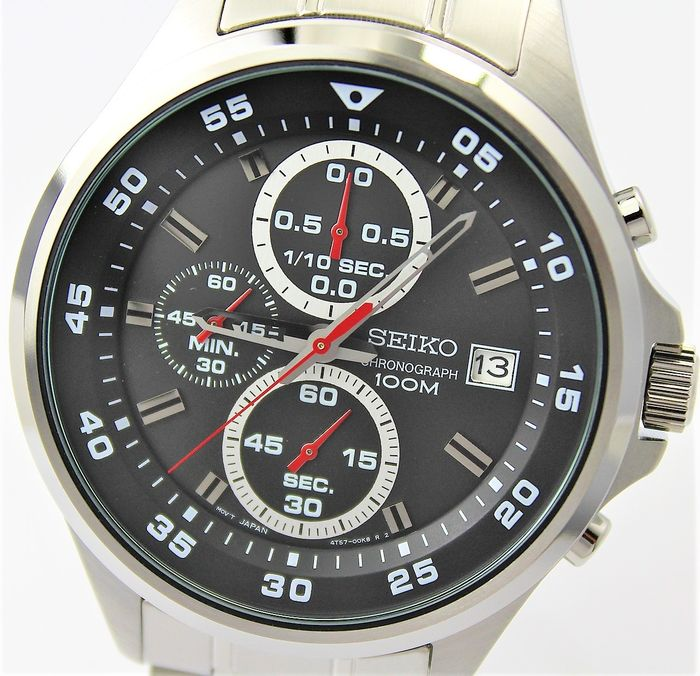 "Seiko - ""NO RESERVE PRICE""  Chronograph - New & Boxed - Heren - 2011-heden"