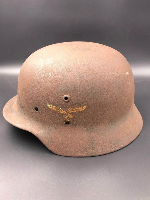 Germany - Air Force - Helmet, Steel Helmet Bell of a M35. Luftwaffe, double emblem