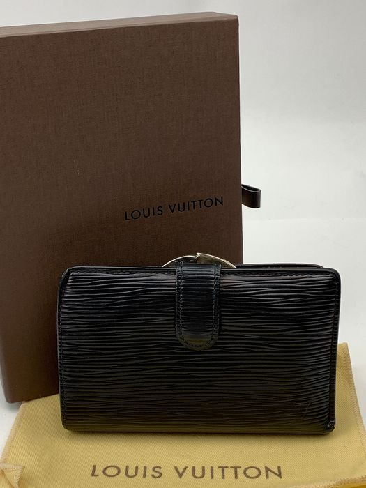 Louis Vuitton - Black Epi Wallet