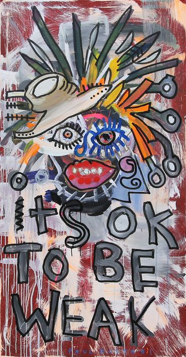 Paul Kostabi - It's Okay To Be Wear