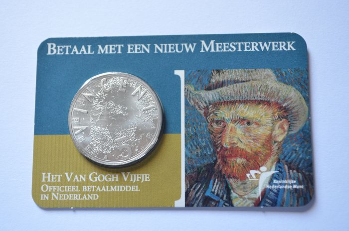 The Netherlands -  5 Euro 2003 'Van Gogh' in Coincard