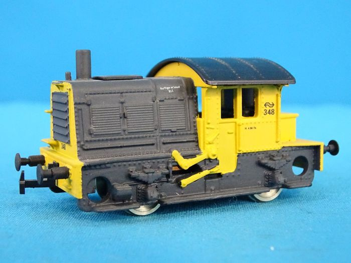 "Roco H0 - 04153B - Diesel locomotive - Series 200/300 ""Sik"" - NS"