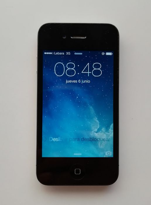 Apple 4 8Gb black free - iPhone - In originele verpakking
