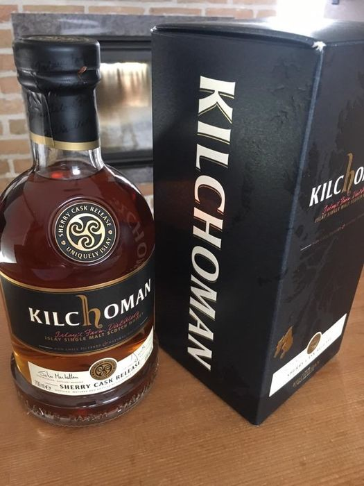 Kilchoman Single Malt Whisky - Sherry Cask Release  - 0.7 Ltr