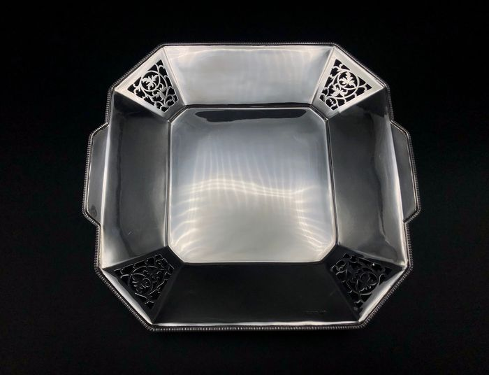 Fruit basket, Fruit bowl - .925 silver - Frank Cobb & Co Ltd, Sheffield - England - 1936