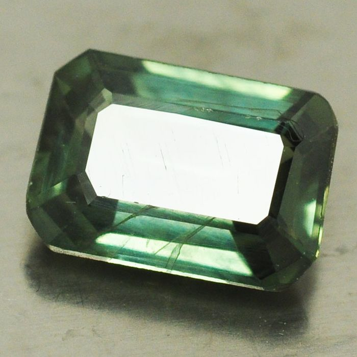 1 pcs Verde Zafiro - 1.18 ct