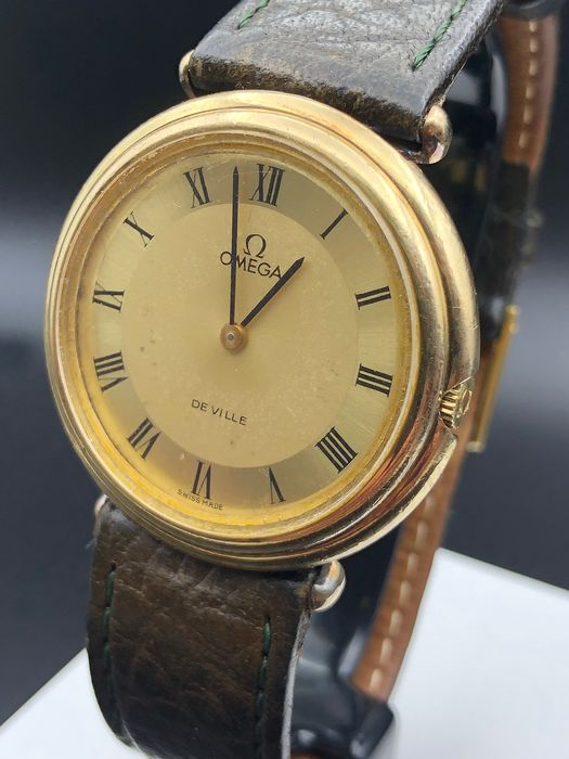 Omega - De Ville - Gold on steel - cal 625 - 1110125 - Homme - 1970-1979