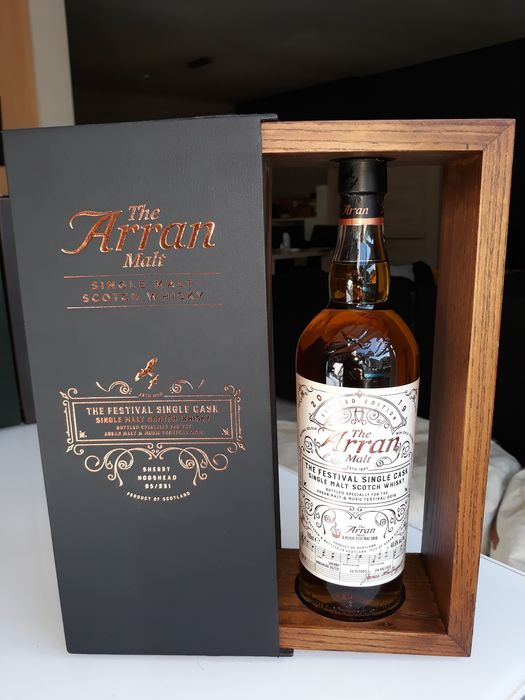 Arran 1995 23 years old Malt & Music 2019 Festival Bottling - b. 2000s to today - 70cl