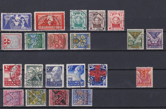 Netherlands 1923/1936 - Selection of complete sets