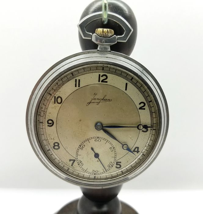 a54451648 Junghans - pocket watch NO RESERVE PRICE - cal. 41a - Men - 1901 ...