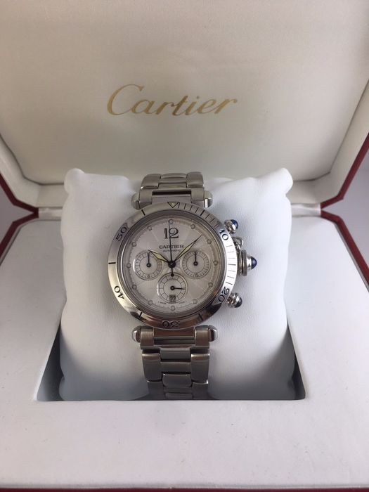 Cartier - Pasha Chronographe - 2113 - Men - 2000-2010