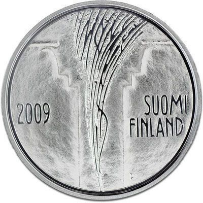 2009 Finland 10 Euro Silver BU Coin Council of State 200 Years