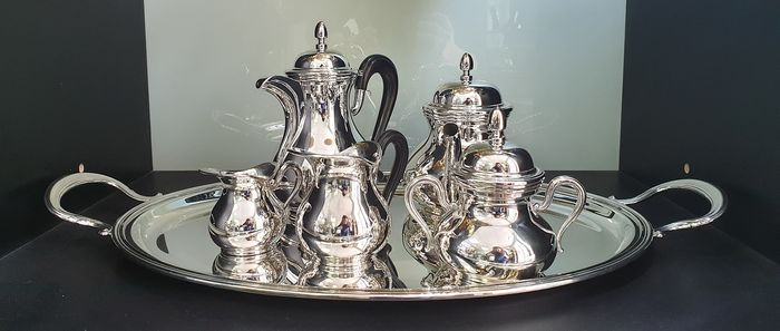 Coffee and tea service - .925 silver - Italy - 21st century