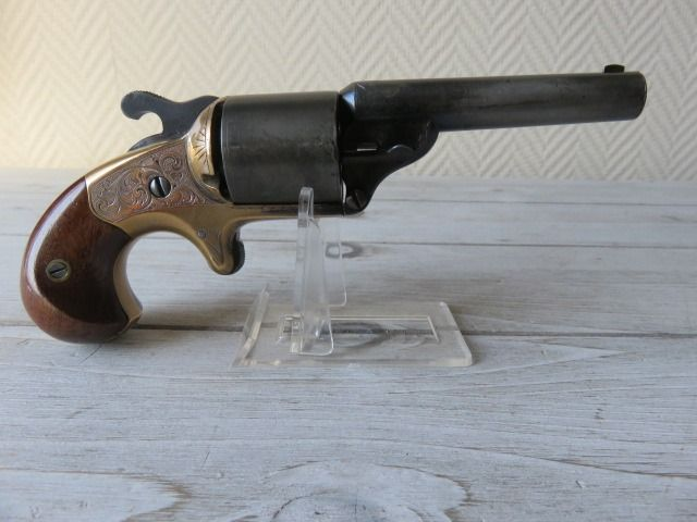 United States of America - Moore - Front Loader - Teat fire - Revolver - 32