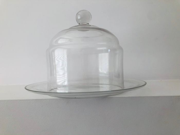 A.D. Copier - Leerdam - Biscuits cheese bell jar - Glass