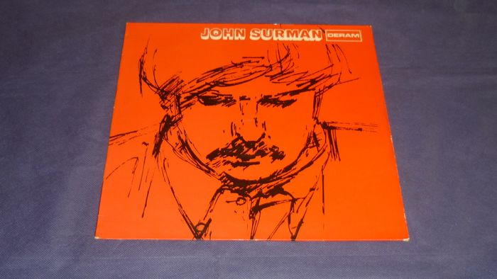 John Surman - Very rare GERMAN PRESS from 1969 - LP Album - 1969/1969