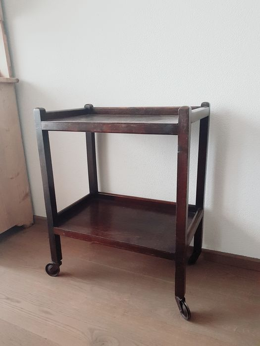 Tea trolley / Serving trolley / Trolley - Wood
