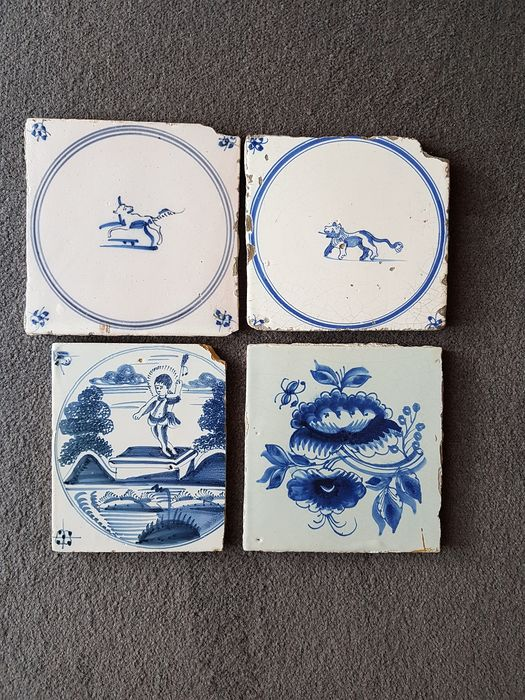 Tile (4) - Earthenware