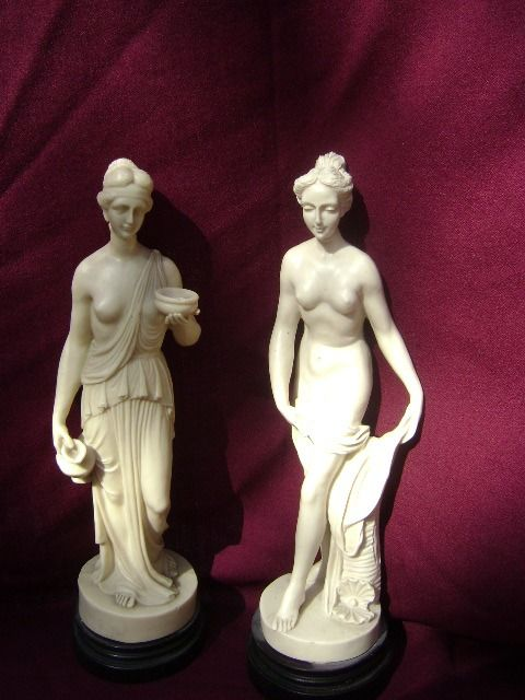 Gino Ruggeri after Antonio Canova - Classic images - oxolite - pressed marble - pressed alabaster.