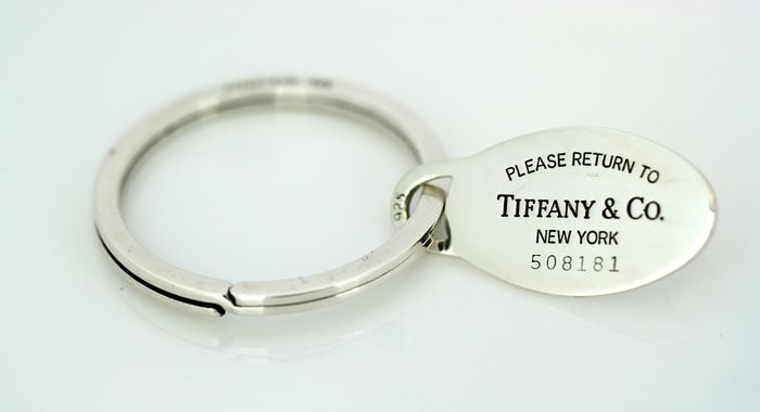 Tiffany - 925 Silver - Key Chain