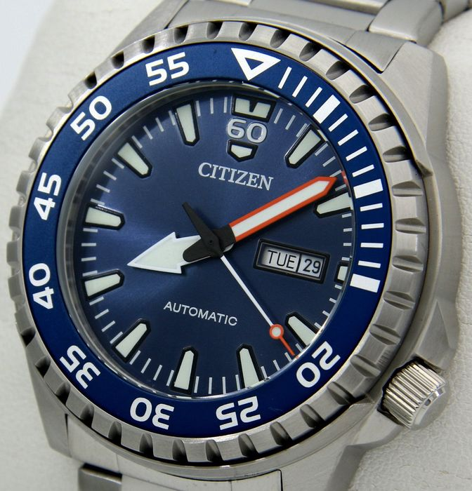 "Citizen - Automatic Diver 100M Blue - - ""NO RESERVE PRICE"" - - Men - 2011-present"