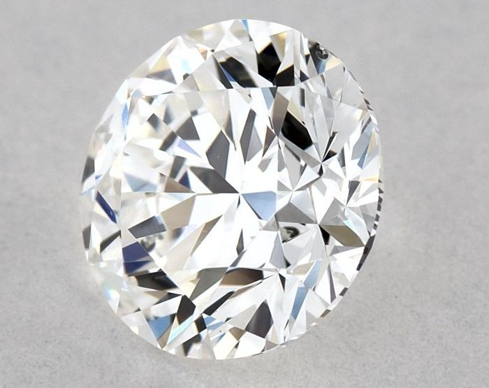 Diamant - 0.80 ct - Rond, GIA gecertificeerd - E - VS2, *3EX*, Low Reserve Price + Free FedEx Shipping