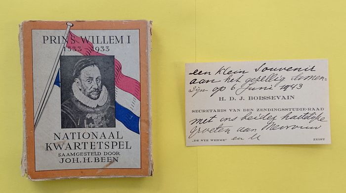 Joh. H. Been - Nationaal kwartetspel  - Cards (1) - Paper