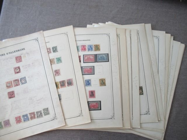 German Empire 1871/1942 - Advanced collection of stamps