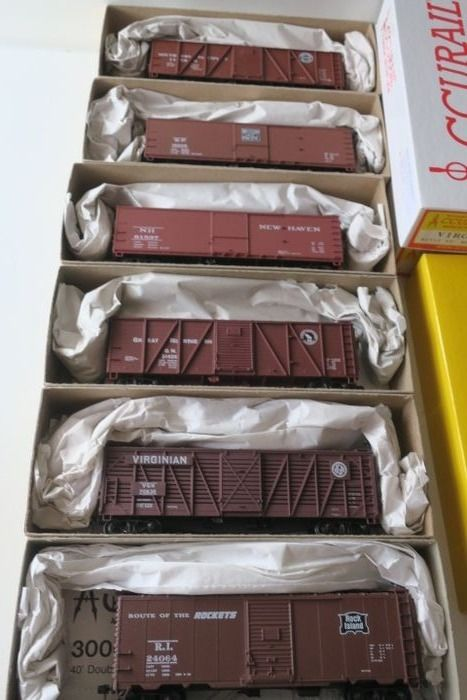 Accurail H0 - Freight carriage - 6 pieces - US